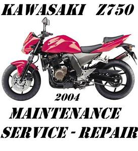 Image Is Loading Kawasaki Z750 Z 750 ZR750 Maintenance Tune Up