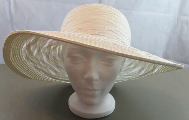 f9d9f05e4bb Nine West Sheer Open Super Floppy Hat White One Size. About this product.  Picture 1 of 6  Picture 2 of 6  Picture 3 of 6  Picture 4 of 6. 3. Picture  3 of 6
