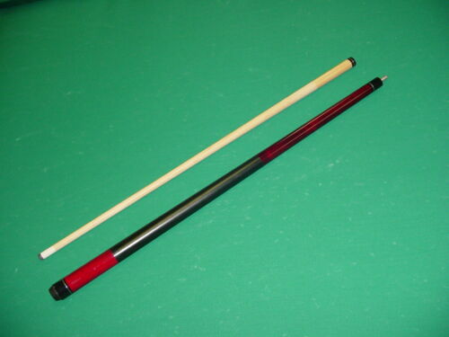 BRAND NEW 19 oz RED CUE WITH  LD TAPER SHAFT CUE pool billiards 20R-0779