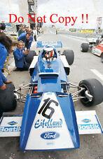 Rolf Stommelen Eifelland Type 21 Spanish Grand Prix 1972 Photograph 1