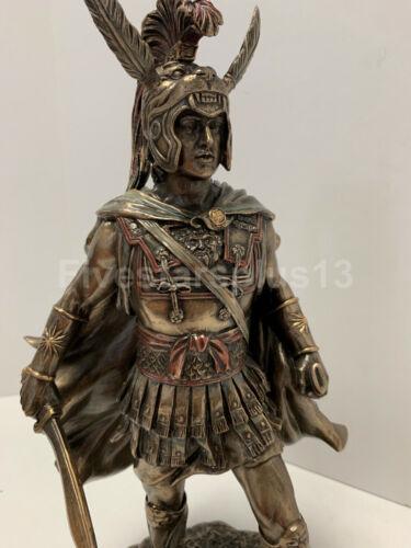 """12/"""" Alexander The Great Statue Sculpture Macedonian Greek King Warrior"""