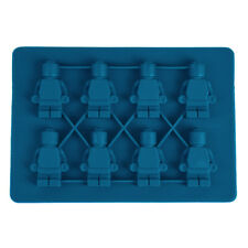Cake Soap Shape Ice Bricks Cube Cubes Silicone Tray Mold Mould Fridge Freezer UK