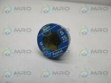 Bussmann Type S 15 Amp Time Delay Screw Base Used