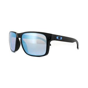 Image is loading Oakley-Sunglasses-Holbrook-OO9102-C1-Polished-Black-Prizm- c2d49b29cc