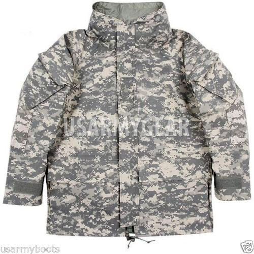 Eredeti amerikai hadsereg GEN 2 II EWCWS Goretex vízálló Acu Parka kabát S, M, L, XL, XXL