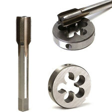 1/2-28 UNEF HSS Plug Tap Die Round Right Hand Split Gunsmithing Cutting Tools