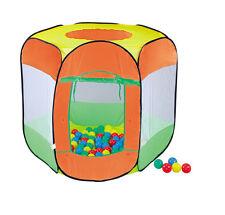 Glow2B Ball Pool mit 100 Bällen Ballpool Bällebad Ballhaus 90x90x97 cm