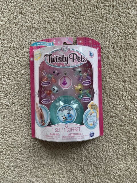 Twisty Petz Babies Collectible Bracelet Set Kitties /& Unicorns 4-Pack