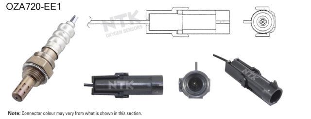 NGK NTK Oxygen Lambda Sensor OZA720-EE1 fits Daewoo Espero 2.0