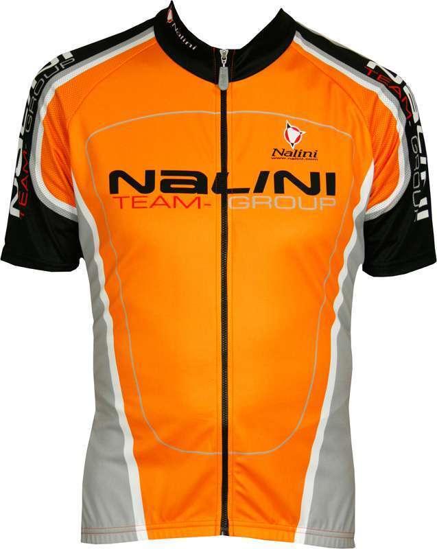Nalini pro especiales de manga corta camiseta Bencino naranja