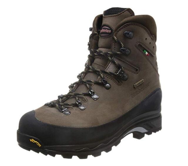 d59b9cc4cdf Zamberlan Men's Guide GTX RR Brown Leather Backpacking Hiking Boots  Worldwide