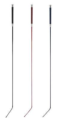 Waldhausen Reflex Reflective Long Schooling Dressage Riding Whip//Stick FREE P/&P