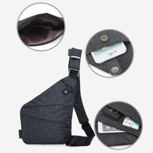 New Oxford Personal Shoulder Pocket Bag Anti Theft Multifunctional Sports Pocket