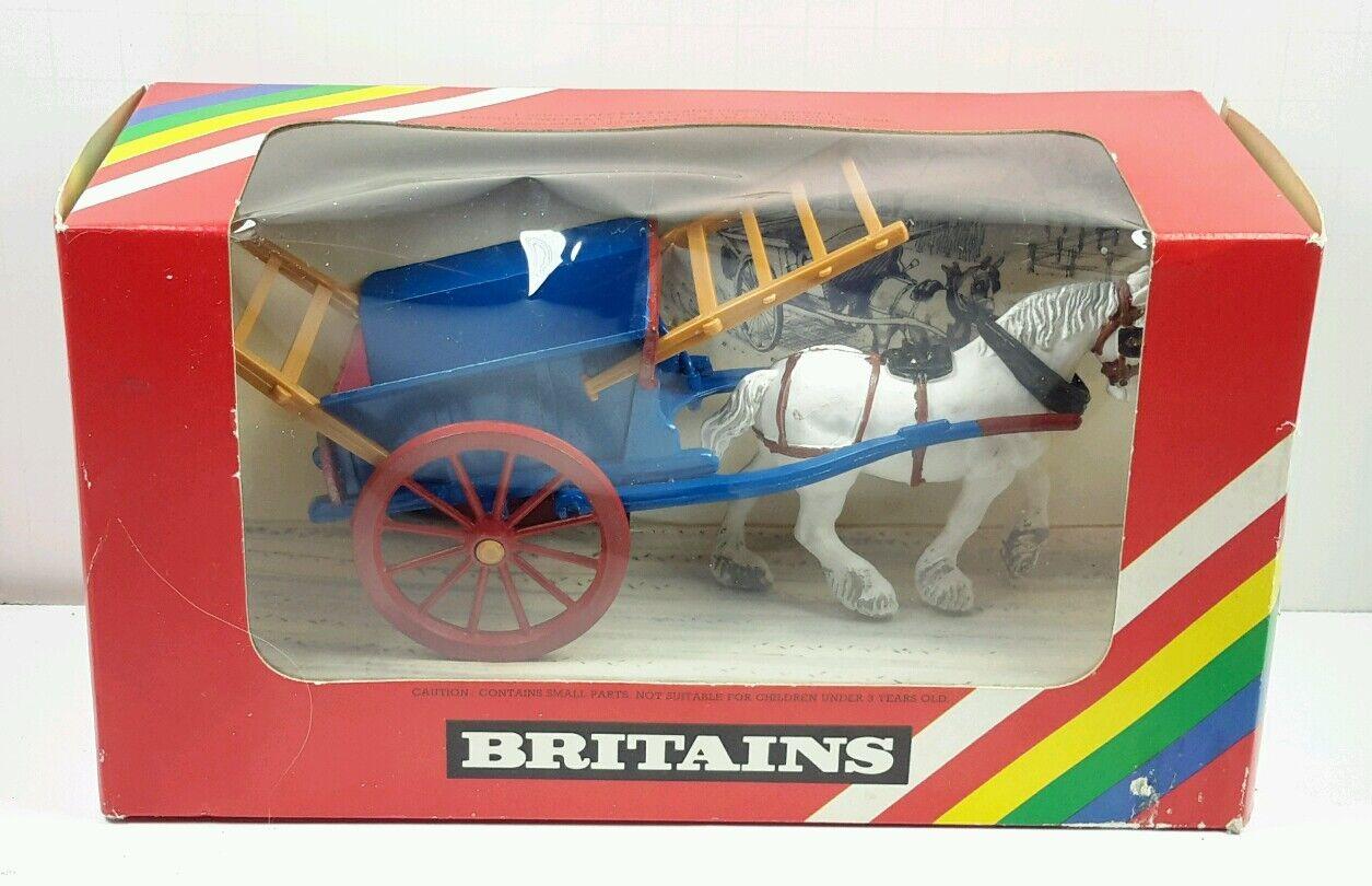 precios al por mayor Nuevo Vintage Britains caballo Dibujado tumbrel Cochero    9499  a precios asequibles