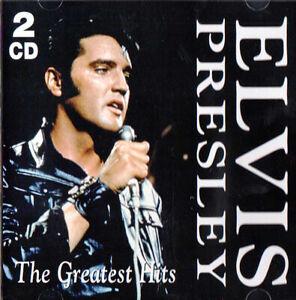 ELVIS-PRESLEY-2-CD-GREATEST-HITS-digitally-remastered-Original-CD-2007-RARE