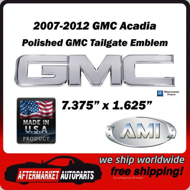 2002-2009 GMC Envoy Polished Billet Aluminum GMC Tailgate Emblem AMI 96502P