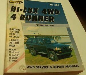 1979-1988-TOYOTA-HILUX-amp-4RUNNER-Petrol-Workshop-Manual