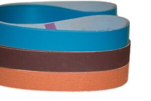 "1/"" x 30/"" Sanding Belts Sharpening You Pick Your Own 25 Pack"