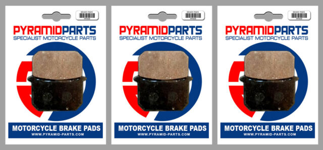 Kawasaki Z 1000 K, M, CSR 1981 Front & Rear Brake Pads Full Set (3 Pairs)