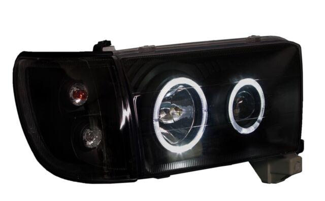 headlights toyota 4runner (Hilux Surf) 1995-2002, Black