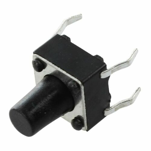 6x6x8mm Rundtaster 4 Stifte SMD SMT Taster Kurzhubtaster C2K3 JK z6 25 Stk