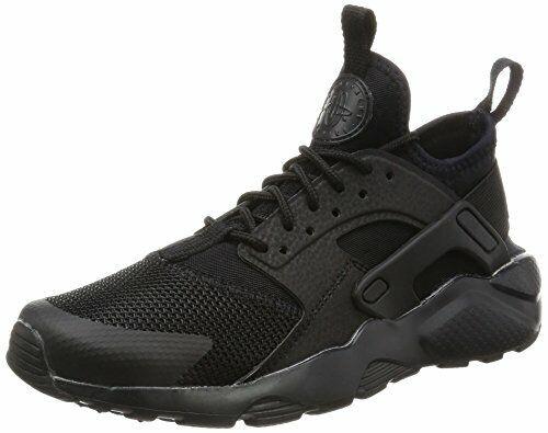 Scarpa Nike Air Huarache run ultra GS 847569-004 bambino scarpe donna nero max
