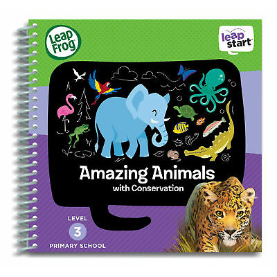 Leapfrog Leapstart Level 3, Amazing Animals With Conservation 30+ Page Activity