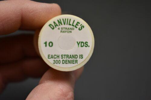 10 yards Fly Tying 1 Spool #100  BLACK  Danville/'s 4 Strand RAYON Floss