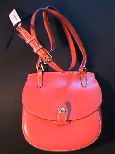 Strawberry X Real Bag Dooney Shoulder Purse Leather Happy body Bourke Nwt red 1xfZCaw6q
