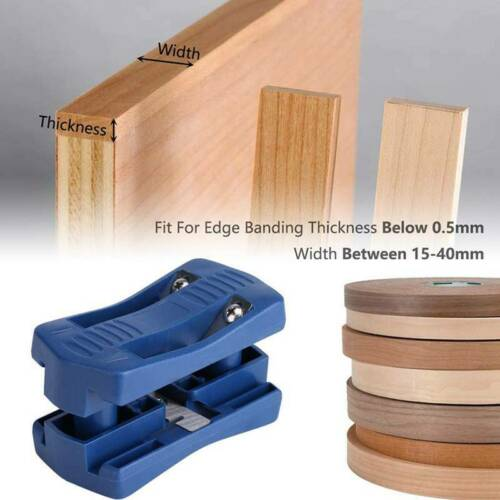 Double Edge Trimmer Straight /& Tapered Cuts In Laminate Veneers Edge Banding S