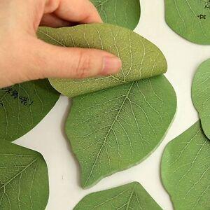 Sticky Leaf Office Bookmark Marker Memo Sticky Notes Sticker Bookmark Leaves  /_F