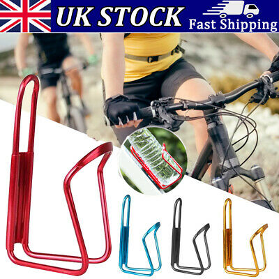 Sports Bike Bicycle Cycling Drink Water Bottle Holder Aluminum Alloy Rack Cagetr