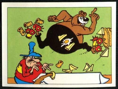 The Magic Of The Beano #224 Merlin 1989 Sticker C846