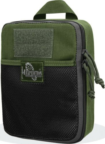Maxpedition Beefy Pocket OD Green Slip Pocket Key Ring Elastic Organizers MOLLE