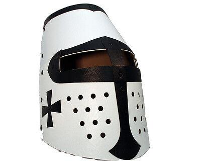 Ritterhelm schwarzer Ritter Kinder Helm Kostümhelm