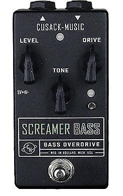 Cusack Effects Screamer Bass - Overdrive Bass Guitar FX Effects Pedal