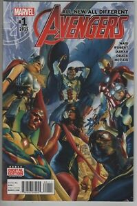 ALL DIFFERENT NEW AVENGERS #1 HIP HOP VARIANT COVER MARVEL COMIC BOOK THE ROOTS