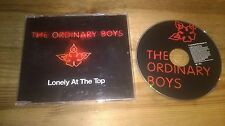 CD Pop Ordinary Boys - Lonely At The Top (1 Song) Promo POLYDOR sc