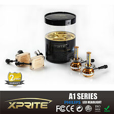 Xprite Philips LED Headlight Kit 60W 12000LM Hi/Lo Beam H4 HB2 9003 6000K White