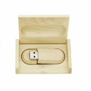 Lot 10 8GB 16GB 32GB 64GB 128GB Wooden USB Flash Drive Photography Pen Bulk Pack