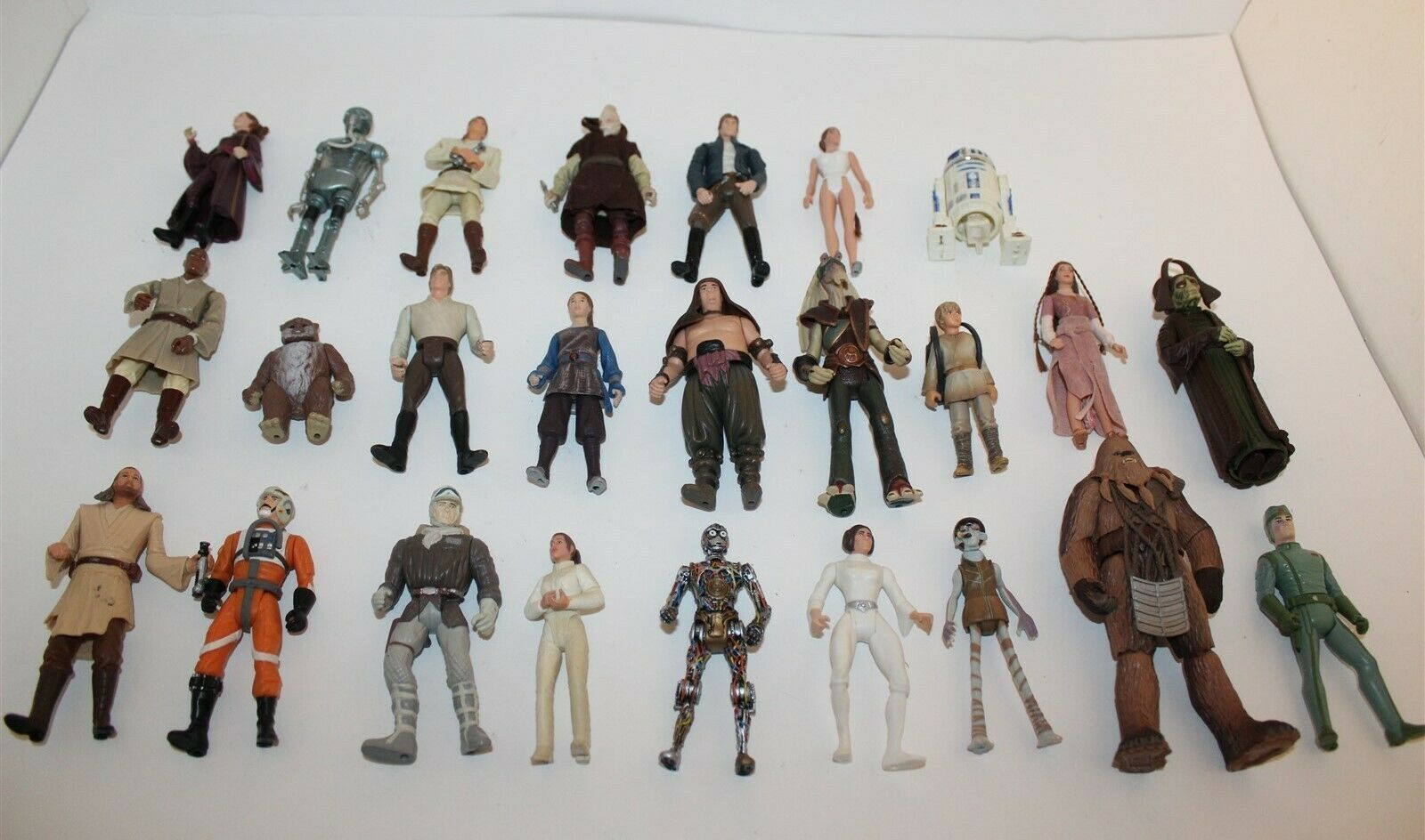 Star Wars Bulk Lot Of Action Figures 25 In Total