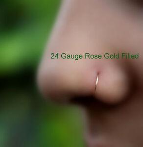 Nose-Ring-Hoop-Helix-Tragus-Cartilage-Earring-14k-Rose-Gold-Filled-24g-16g-7mm