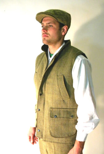 Panciotto 3xl Uomo L Derby Classico Tweed Xl S Country Nuovo Xxl M Verde English wtxpOCqS