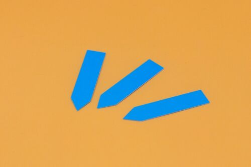 colorate pflanzschilder etichetta 100x stecketiketten 1,3 x 8 cm Spessore ca 0,4 mm