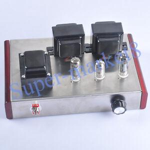 Details about 1Set Class A 6N2 6P1 Single Ended Tube Audio Amplifier HIFI  Valve Amp DIY Kit