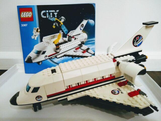 SEALED 3367 LEGO City SPACE SHUTTLE Launch Pad Astronaut Satellite 231 pcs set