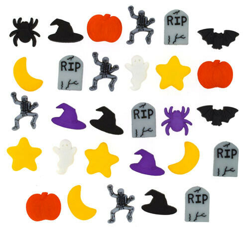 Dress it Up Buttons Fright Night