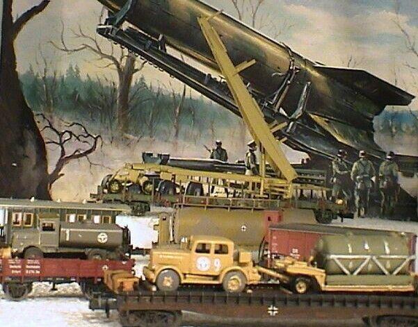 C576 0 - Peenemünde Heeresversuchsanstalt embarque cohete v2 diorama Wehrmacht