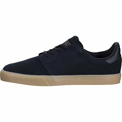 adidas Court Skateboarding BW0658 Mens Seeley Court adidas Core Black/Gum/Gold Metallic 92d8b0