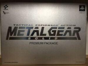 METAL-GEAR-SOLID-premium-package-PS-Import-Japan